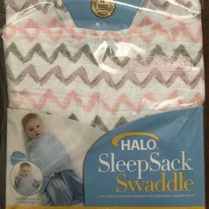 New Halo Sleep Sack Swaddle - 100% Cotton Muslin